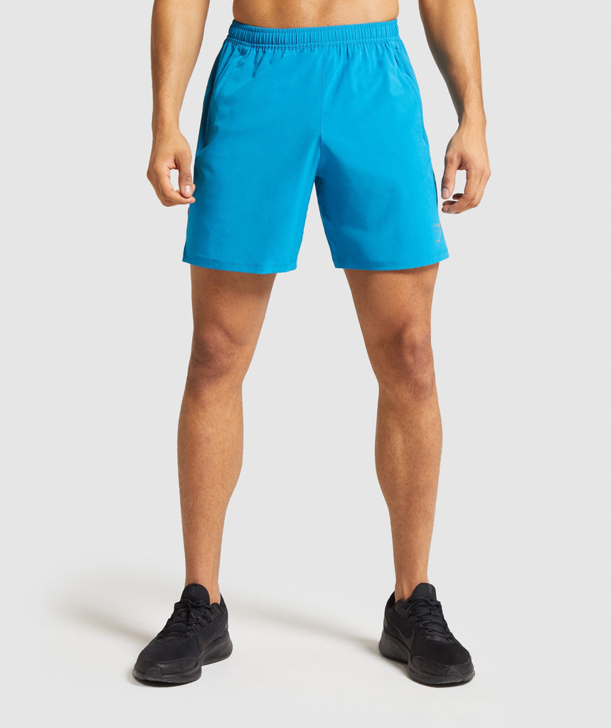 Gymshark Contemporary Shorts - Light Blue 1