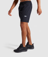 Gymshark Cargo Tech Shorts- Black 9