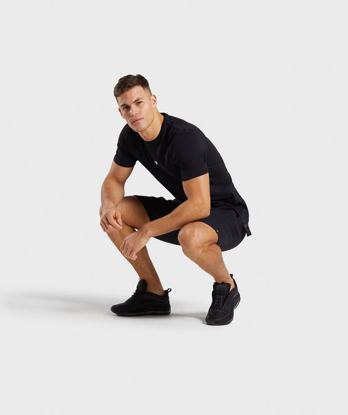 Gymshark Central T-Shirt - Black 3