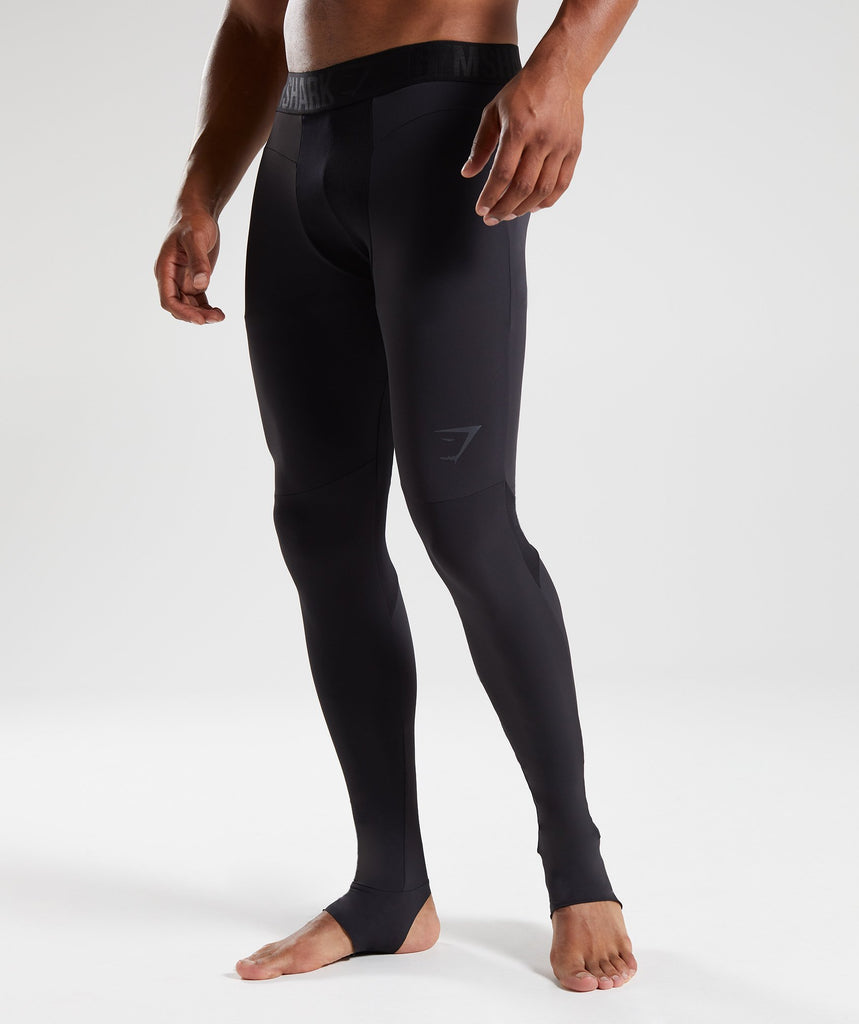 Gymshark Selective Compression Stirrup Leggings  - Black 1