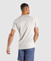 Gymshark Contemporary T-Shirt - Chalk Grey 8
