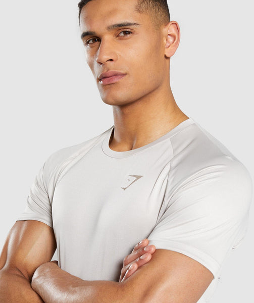 Gymshark Contemporary T-Shirt - Chalk Grey 3
