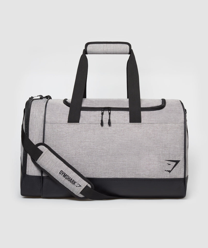 Gymshark Convex Holdall - Light Grey 1
