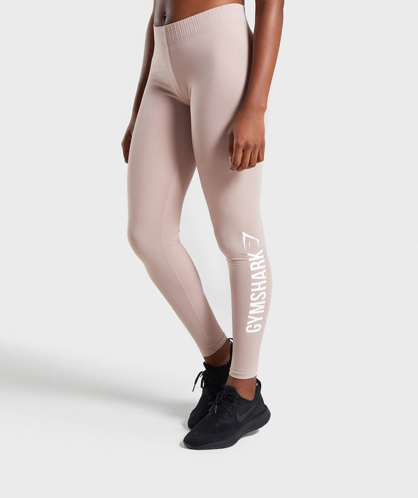 Gymshark Core Leggings - Taupe 1