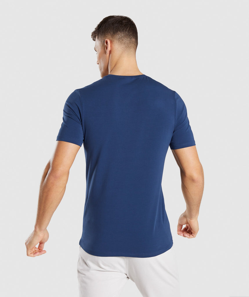 Gymshark Critical T-Shirt - Blue 2