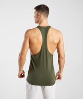 Gymshark Critical Stringer - Green 8