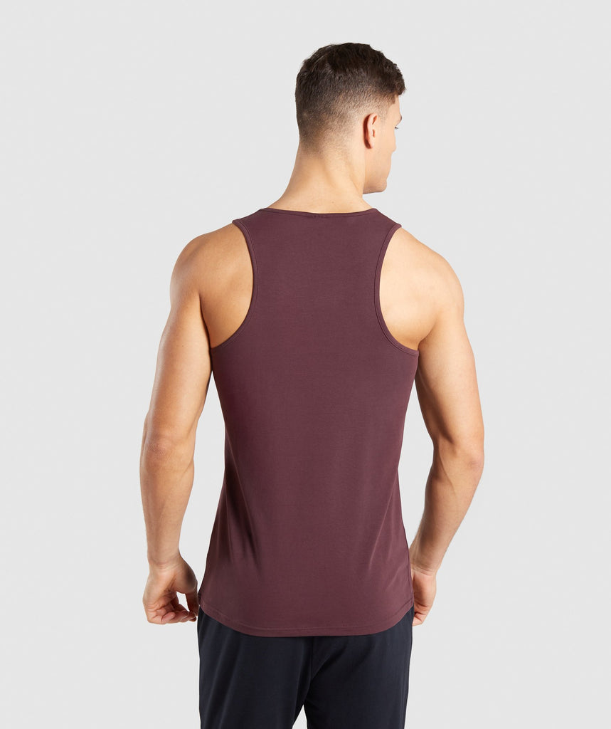 Gymshark Critical Tank - Red 2