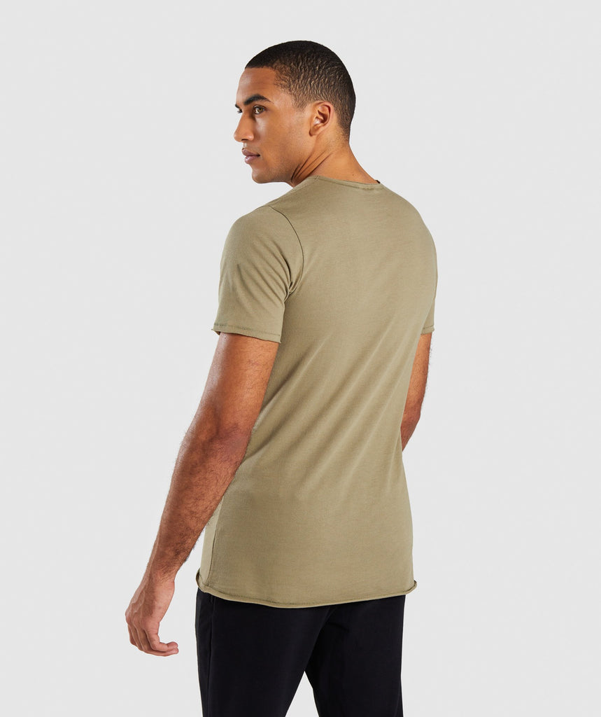 Gymshark Crucial T-Shirt - Light Khaki 2