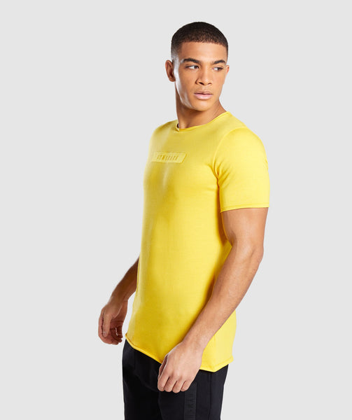 Gymshark Crucial T-Shirt - Yellow 2