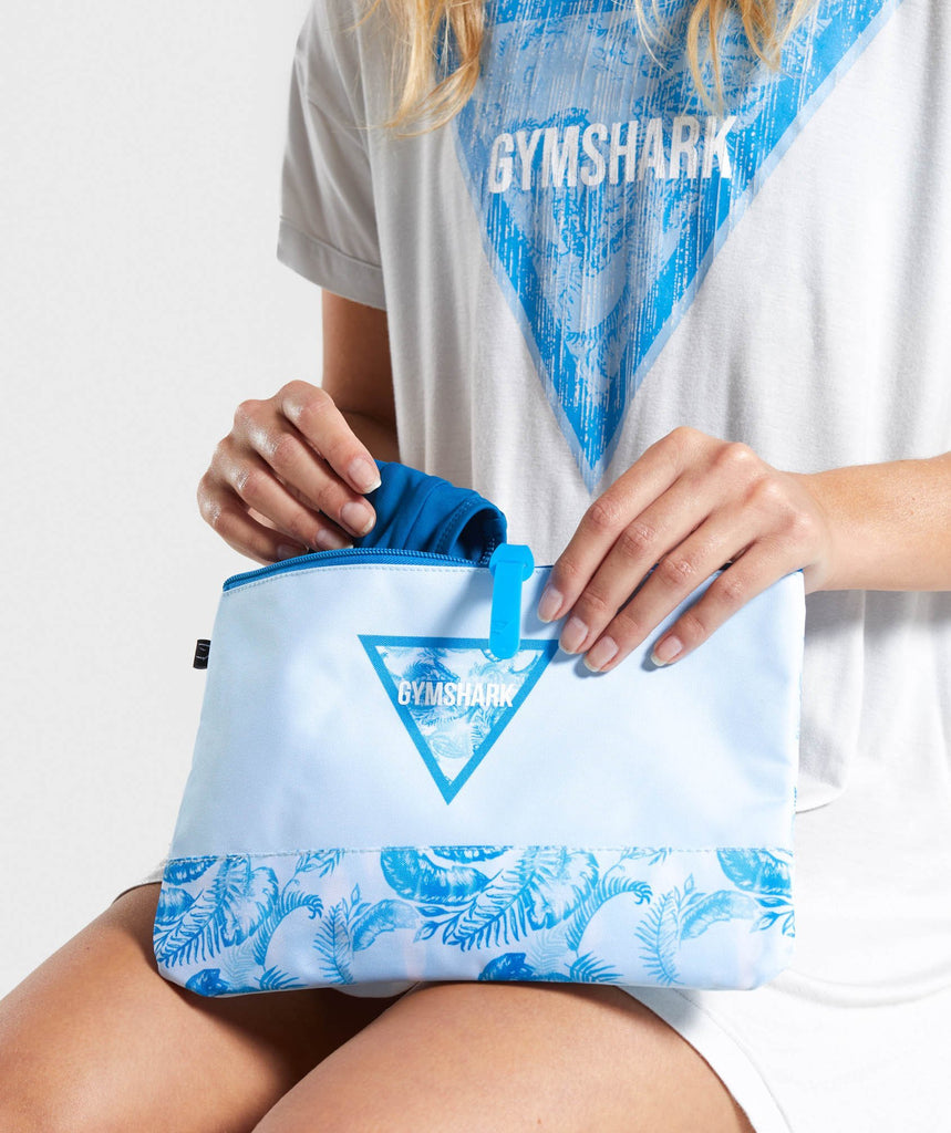 Gymshark Womens Surf Dry Bag - Blue 1