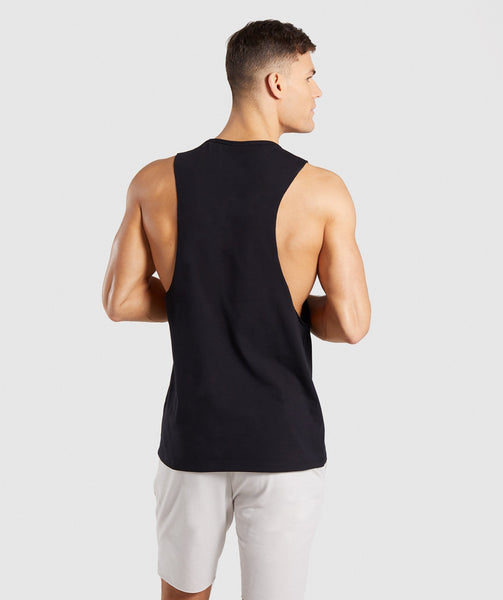 Gymshark Distort Tank - Black 1