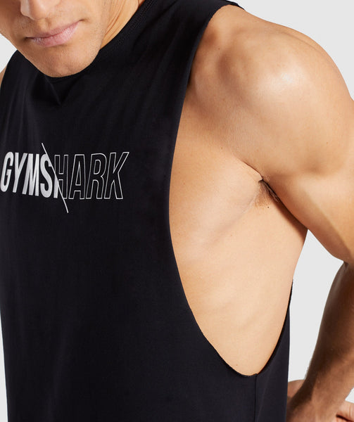 Gymshark Distort Tank - Black 4