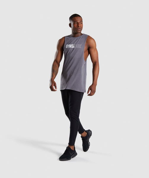 Gymshark Distort Tank - Smokey Grey 3