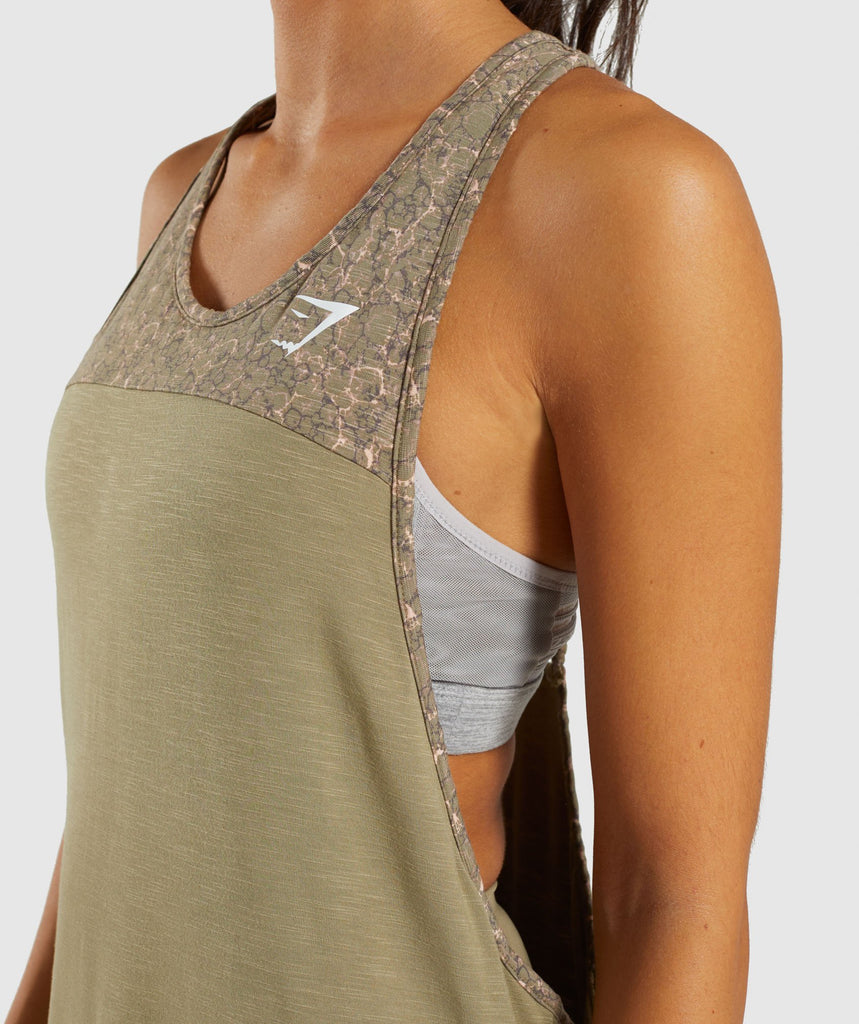 Gymshark Efflux Vest - Washed Khaki 5
