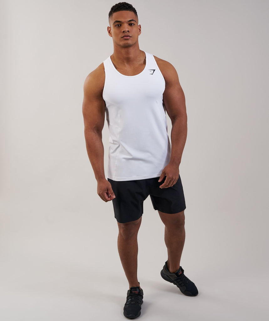 Gymshark Element Tank - White 1