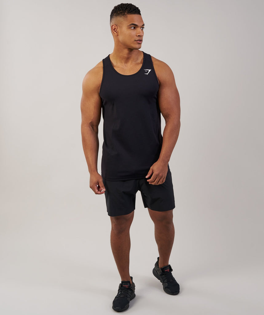 Gymshark Element Tank - Black 1