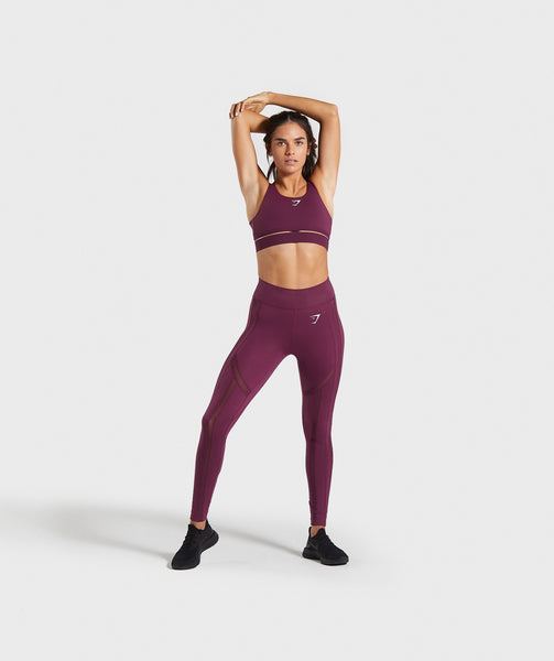 Gymshark Embody Sports Bra - Dark Ruby 2