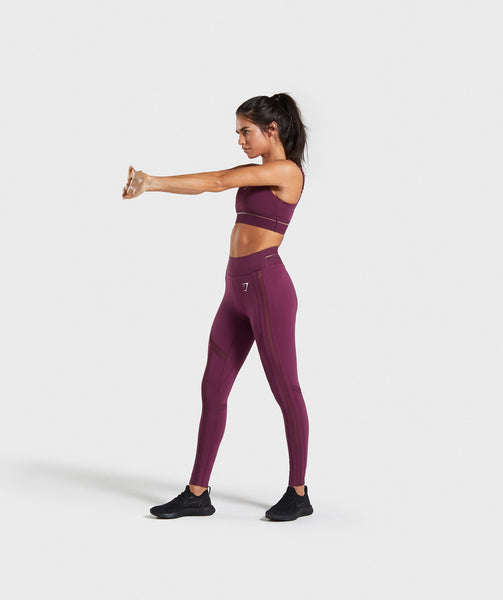 Gymshark Embody Sports Bra - Dark Ruby 3