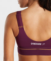 Gymshark Embody Sports Bra - Dark Ruby 11