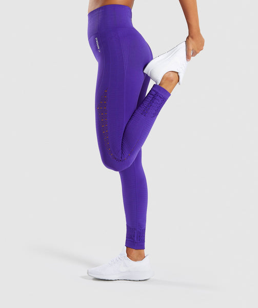 Gymshark Energy+ Seamless Leggings - Indigo 2