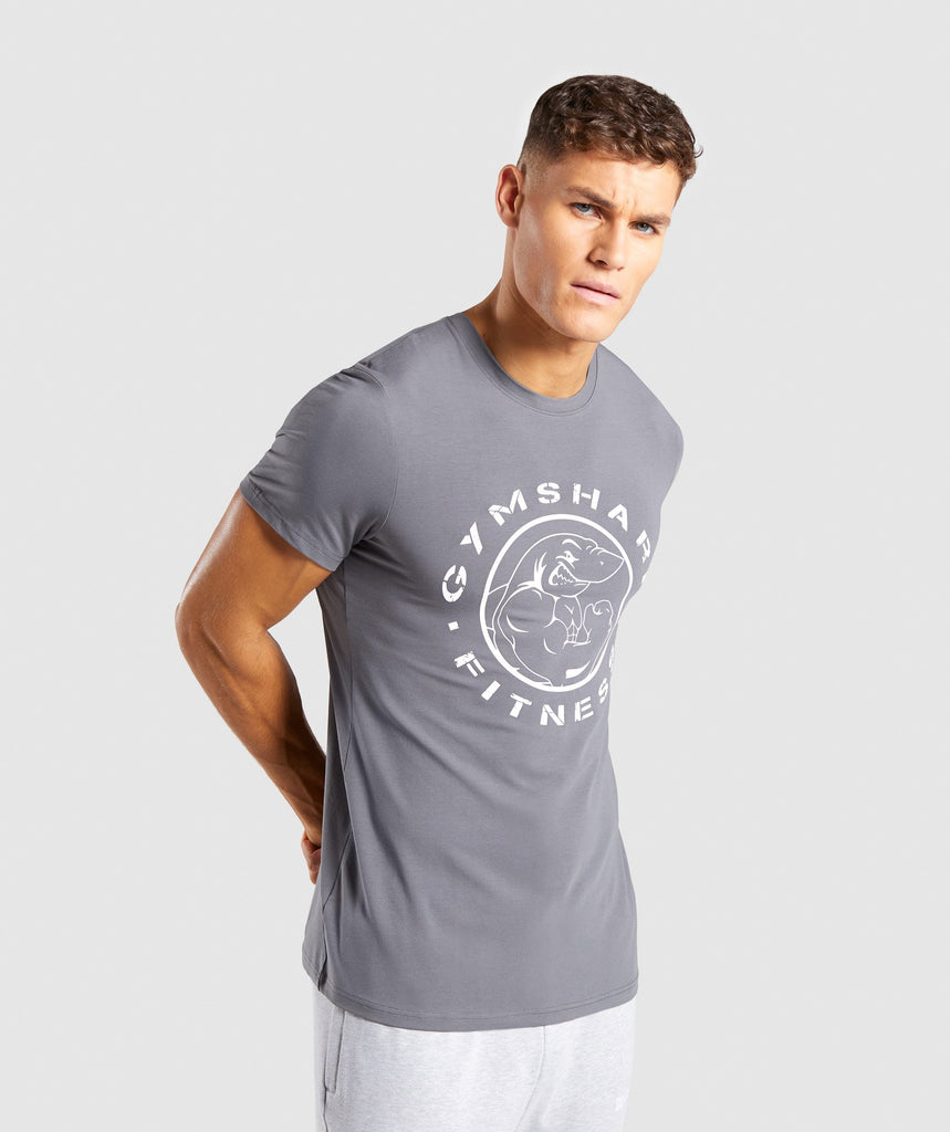 Gymshark Legacy T-Shirt - Smokey Grey 1
