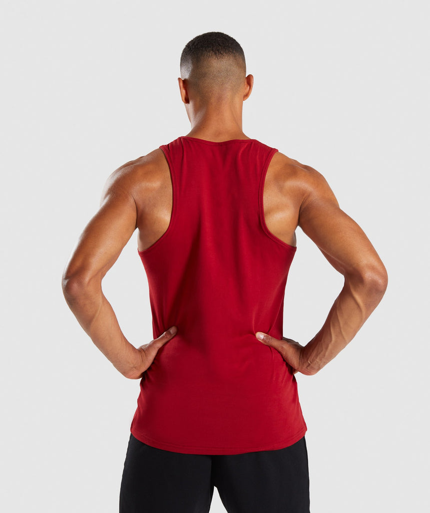 Gymshark Legacy Tank - Full Red 2
