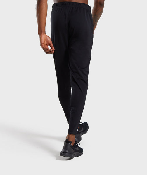 Gymshark Flatlock Bottoms - Black 1