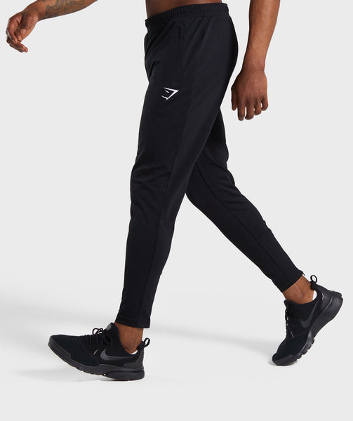 Gymshark Flatlock Bottoms - Black 2