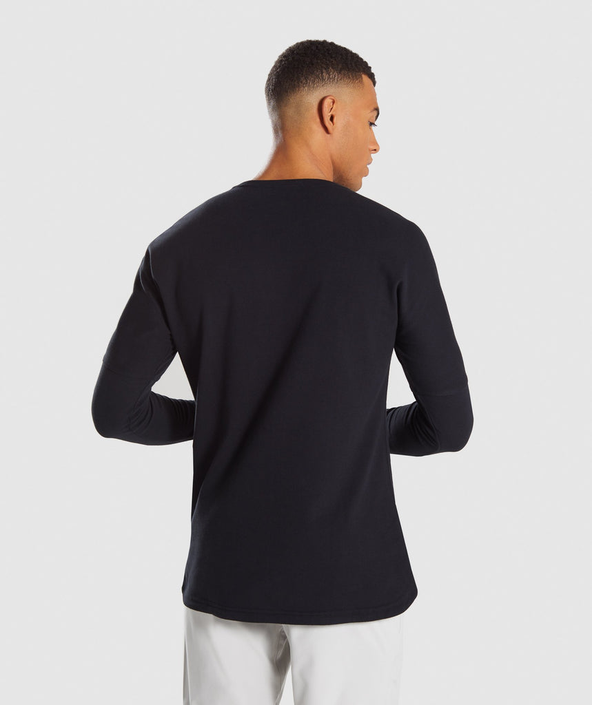 Gymshark Fresh Long Sleeve T-Shirt - Black 2