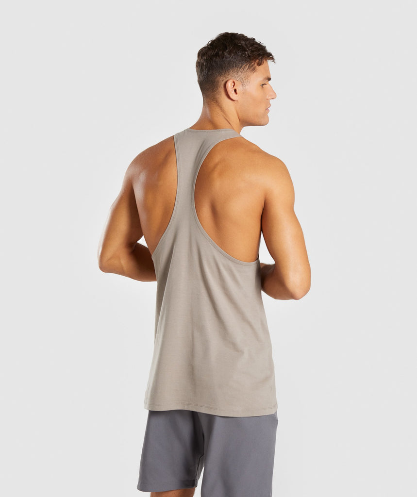 Gymshark Haze Stringer - Driftwood Brown 2