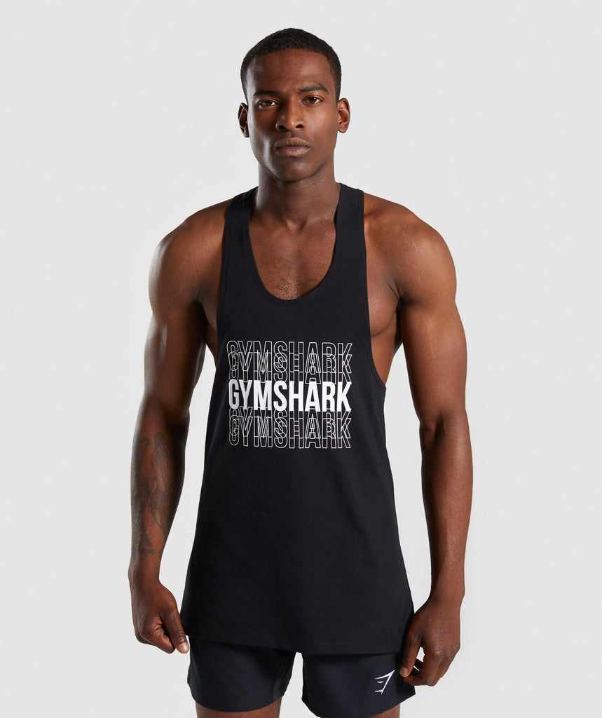 Gymshark Haze Stringer - Black 1