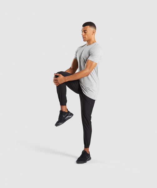 Gymshark Geo T-Shirt - Light Grey Marl 3