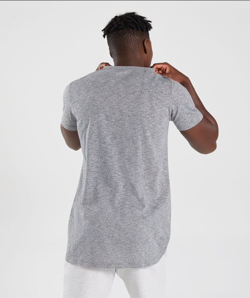 Gymshark Heather T-Shirt - Charcoal Marl 1