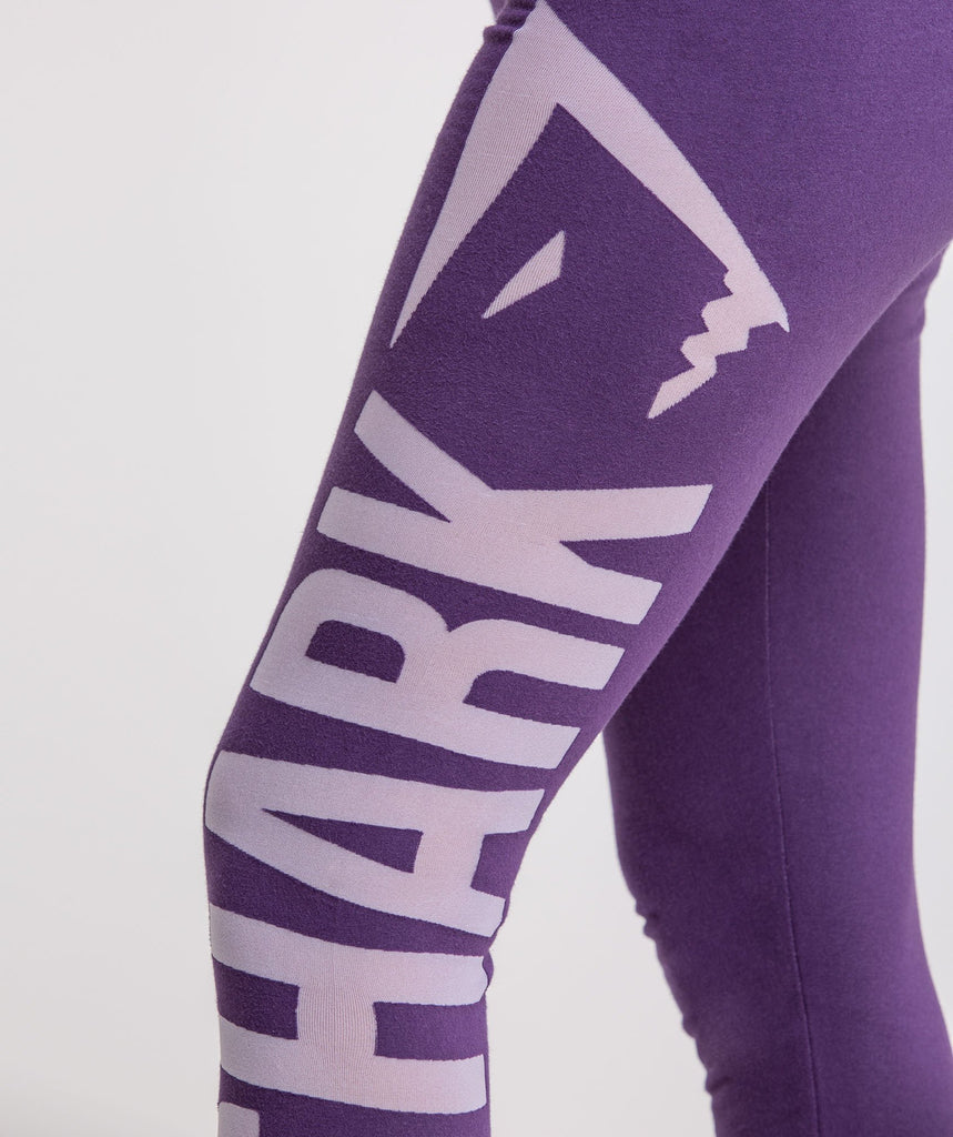 Gymshark Burnout Leggings - Rich Purple/Soft Lilac 5