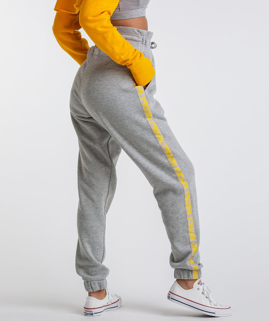 Gymshark Oversized Joggers - Light Grey Marl 2