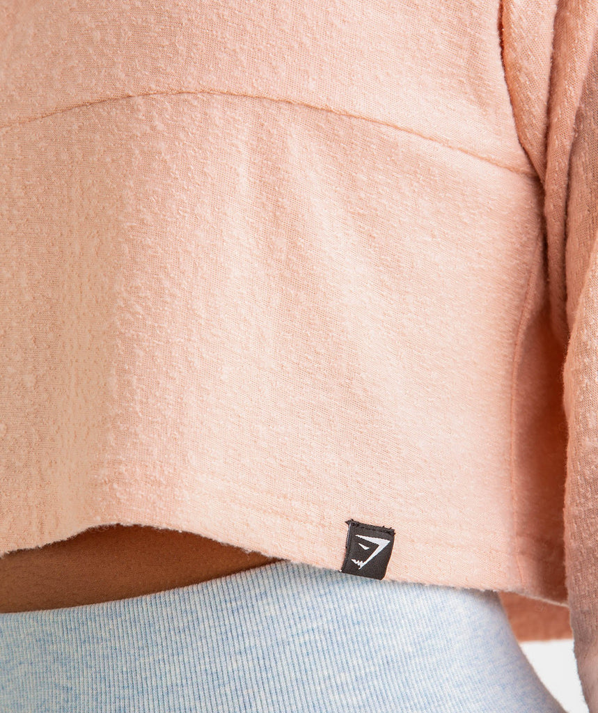 Gymshark Towel Sweater - Blush Nude 5