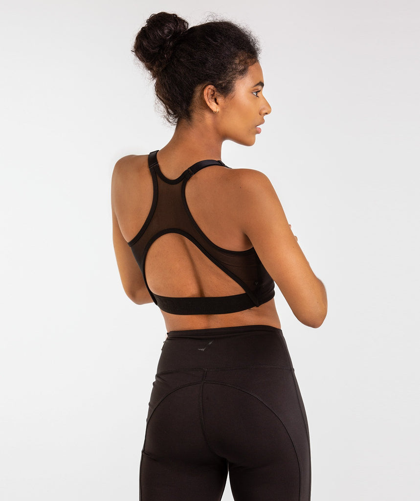 Gymshark Golds Gym Sports Bra - Black 2
