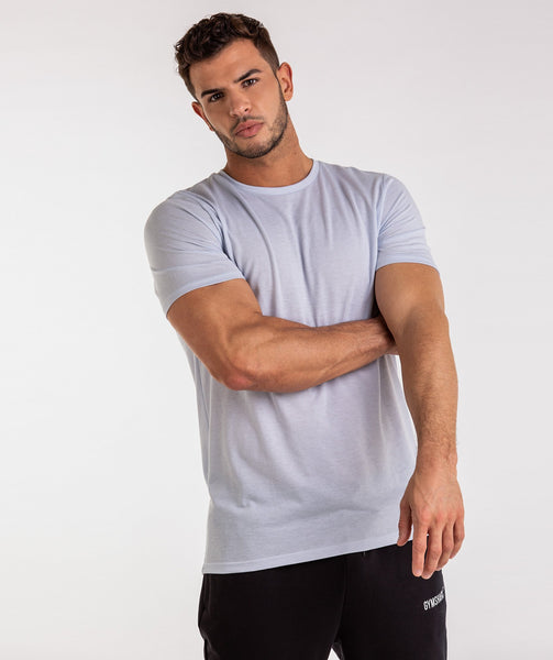 Gymshark Aerate T-Shirt - Clear Water 1