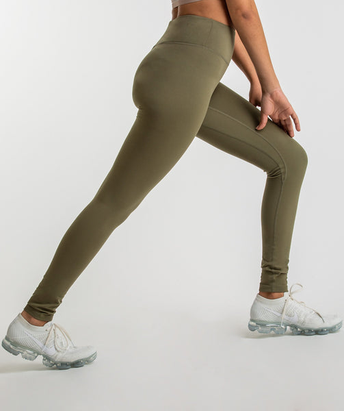 Gymshark Dreamy Leggings - Khaki 4