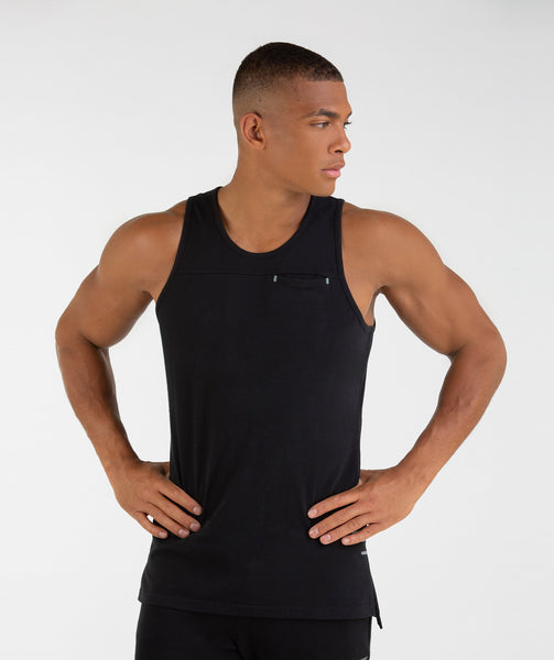 Gymshark City Tank - Black 4