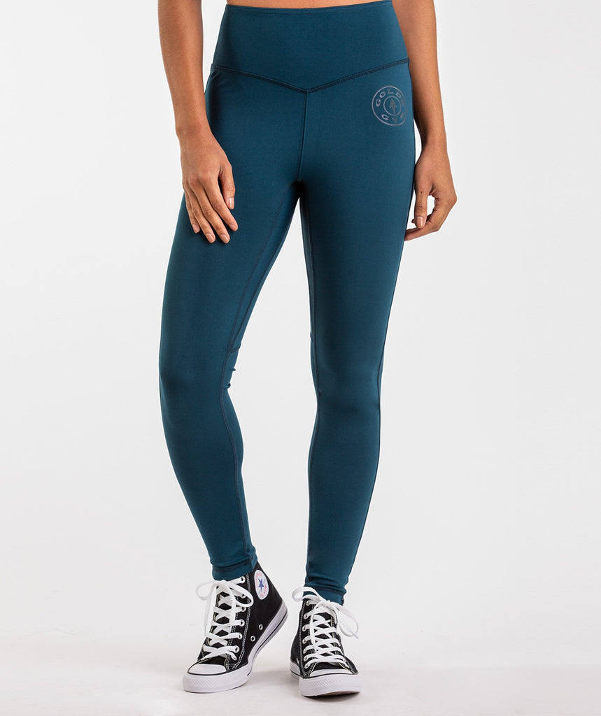 Gymshark Golds Gym Leggings - Lagoon Blue 2