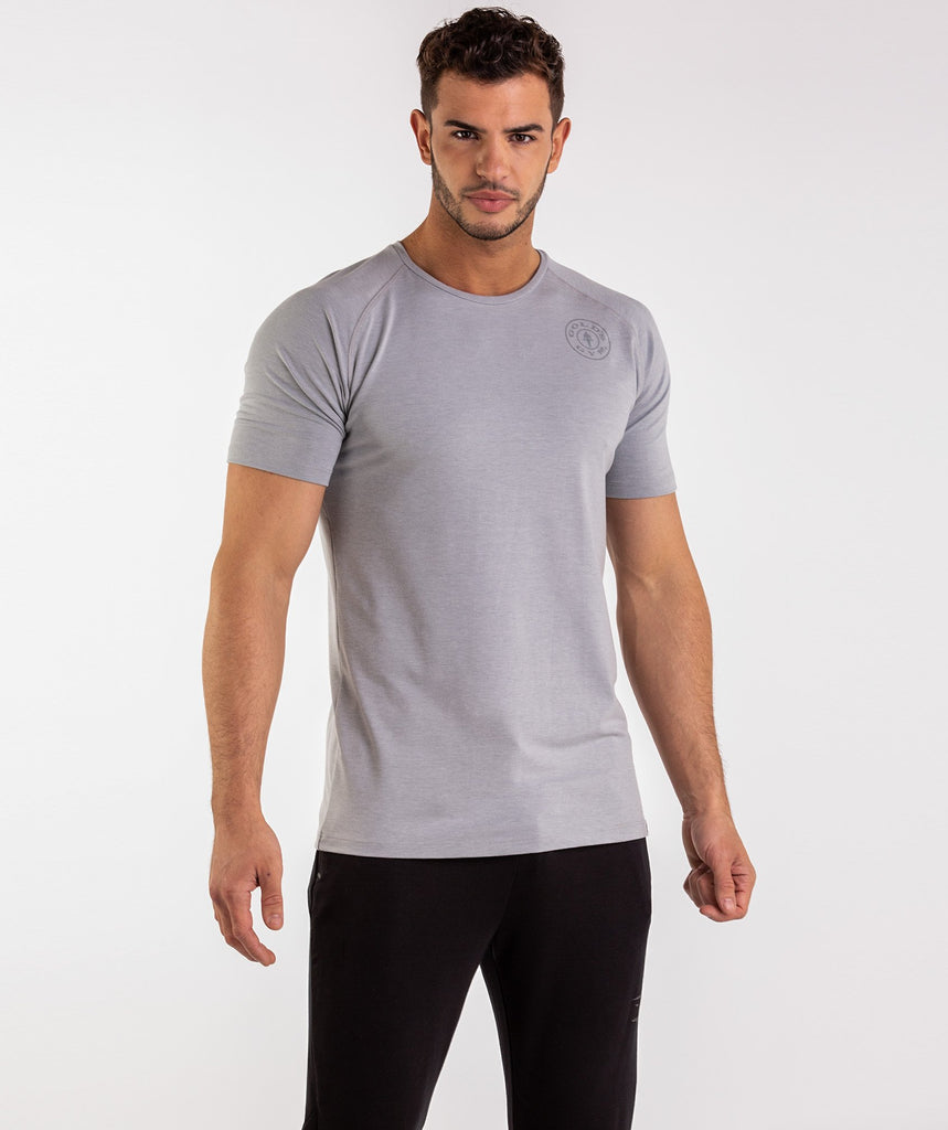 Gymshark Golds Gym T-Shirt - Light Grey 2