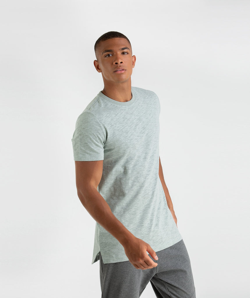 Gymshark Heather T-Shirt - Autumn Green Marl 4