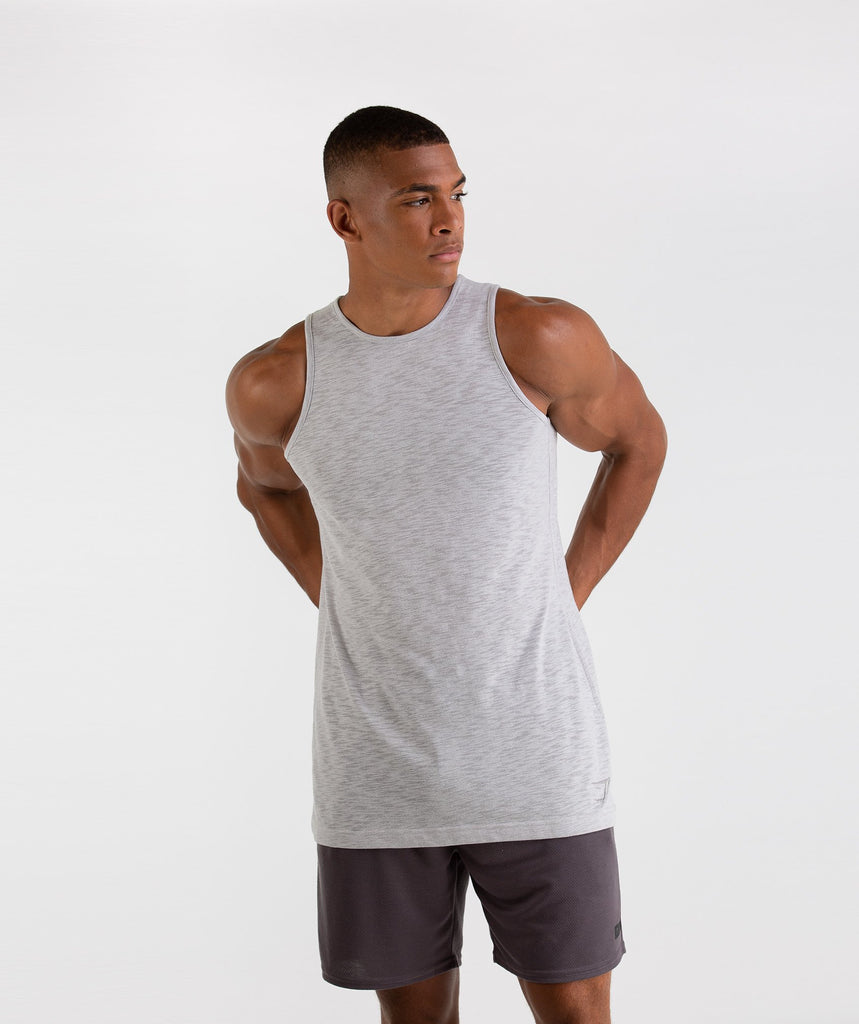 Gymshark Heather Tank - Rustic Grey Marl 1