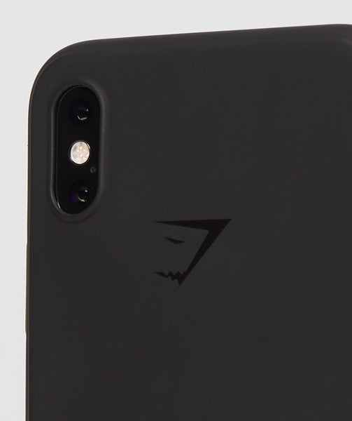 Gymshark iPhone X Case - Black 1