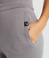 Gymshark Isla Knit Jogger -  Light Grey 11