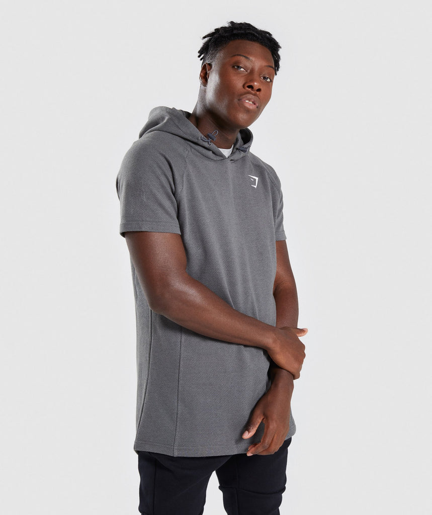 Gymshark Jacquard Pullover - Charcoal Marl 1