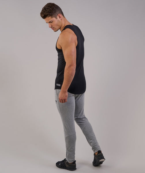 Perforated Longline Tank - Black 3