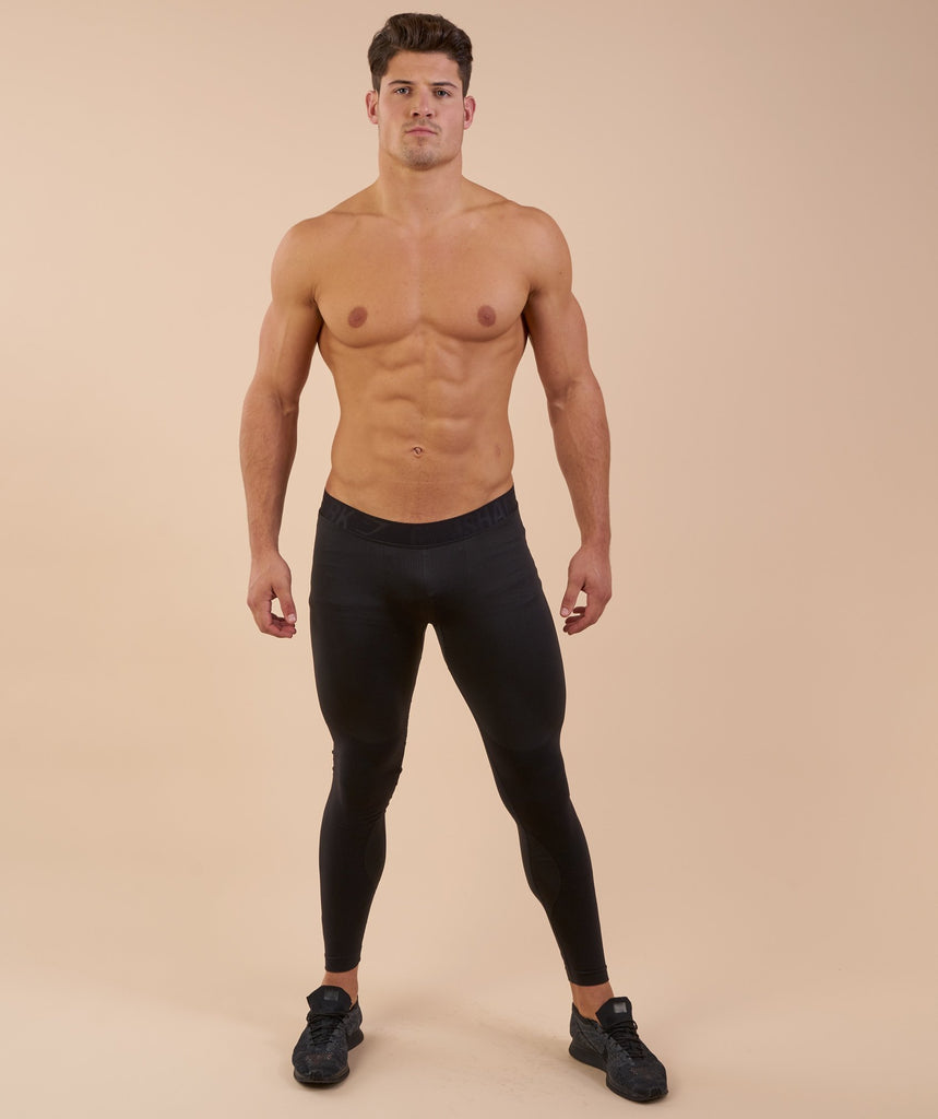 Gymshark Flex Leggings - Black Marl 1