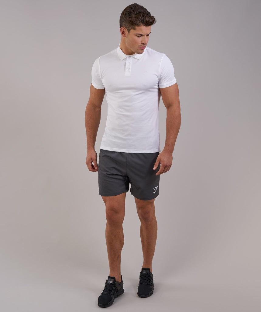 Gymshark Ace Polo - White 1